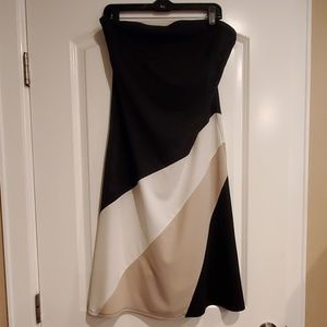 Express Knit Jersey Strapless Dress - NWT